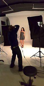 Makingof Fotoshooting